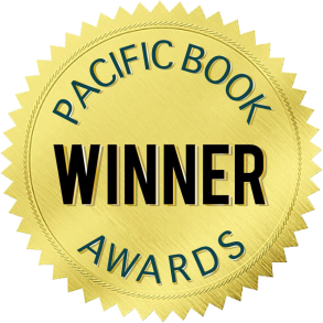 Pacific book awards seal Transparent background